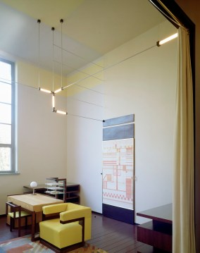 Hans Engels, Gropius's office in the Weimar Bauhausbuilding, Weimar, 1923 by Walter Gropius