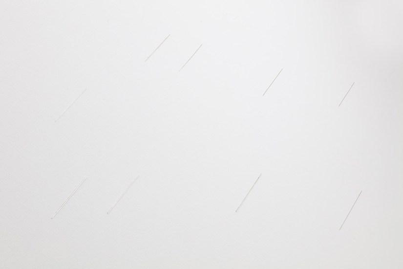 Joana Escoval, RAIN, 2019 (dettaglio), argento, dimensioni variabili Courtesy dell'artista e Vistamare. Vistamarestudio, Pescara / Milano. Fotografia di Filippo Armellin