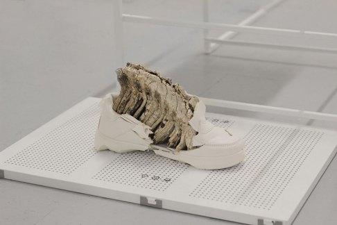 Nicolàs Lamas, Life of things fades into nothingness, dettaglio della mostra, Spazio ORR, Brescia Courtesy of Spazio ORR