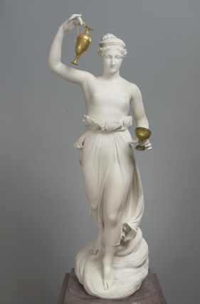 Antonio Canova, Ebe, 1800–1805, marmo e bronzo dorato, 161x49x53.5, San Pietroburgo, Museo Statale Ermitage,Photograph © The State Hermitage Museum, 2019