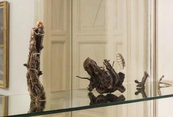 Giorni segreti. Giovanni De Lazzari, installation view (Vetrine, dettaglio), 2019, Fondazione Pini, Milano Credits Andrea Rossetti