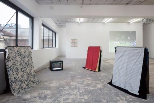 Simone Forti. Vicino al cuore, installation view, ICA Milano Photo Filippo Armellin