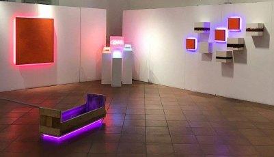 Manuela Bedeschi e Tiziano Bellomi, Parole e Numeri, veduta della mostra, MAM, Gazoldo degli Ippoliti (MN)