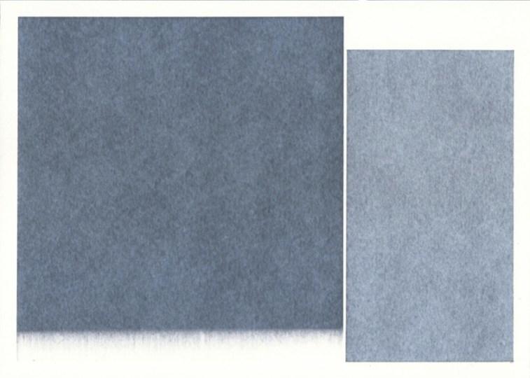 Rolando Tessadri, Senza titolo (022), 2020, acrilico su carta, 19x26.5 cm