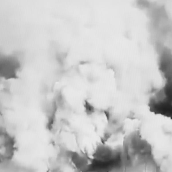 Massimiliano Gatti, Le nuvole #16, 2019, fine art giclée inkjet print on Photo Rag cotton paper, 50x50 cm Courtesy Studio la Città