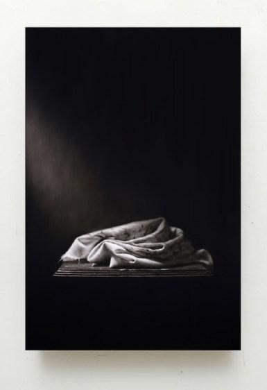 Ettore Frani, Preghiera, 2020, cm 90x60, olio su tavola laccata - ph. Paola Feraiorni