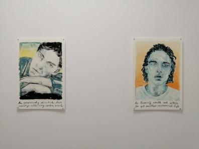 Marion Fink. Another level of assumption, veduta della mostra,c Studio d'Arte Cannaviello, Milano