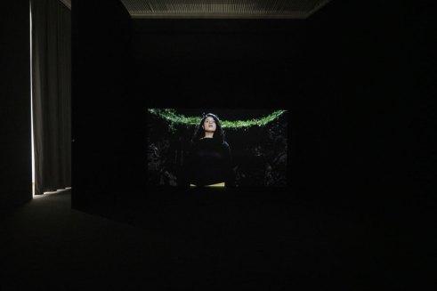 Joao Onofre, Untitled (n'en finit plus), veduta della mostra Made of Sound (Performing PAC), PAC - Padiglione d'Arte Contemporanea, Milano, 2020 Photo by Claudia Capelli