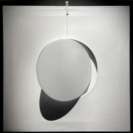 Sara Campesan, Immagine Circolare, 1967, acciaio corten, cm 62x62x8. Courtesy Futura Art Gallery