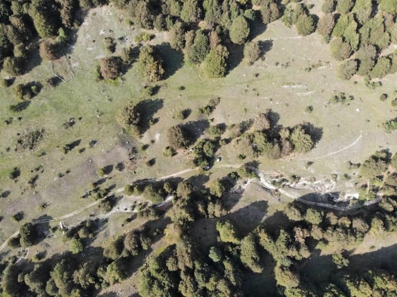 Veduta del Parco Nazionale d'Abruzzo, Lazio e Molise