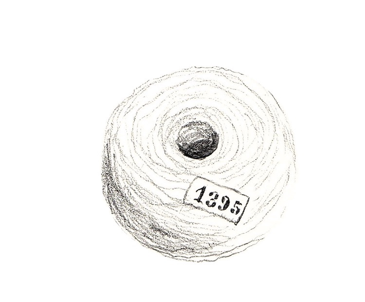 """Alice Padovani, Tondo, uno dei disegni relativi all'apparato iconografico a """"compendio affettivo"""""""