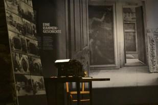 Uffizi in Passeier: chi protegge l'arte in guerra?, installation view, Le Gallerie, Trento Credits Design Buero Courtesy Fondazione Museo Storico del Trentino