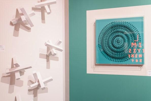 Paolo Ceribelli. Mindset, veduta della mostra, Galleria Studio Rossetti arte contemporanea, Genova Courtesy l'artista e Studio Rossetti arte contemporanea