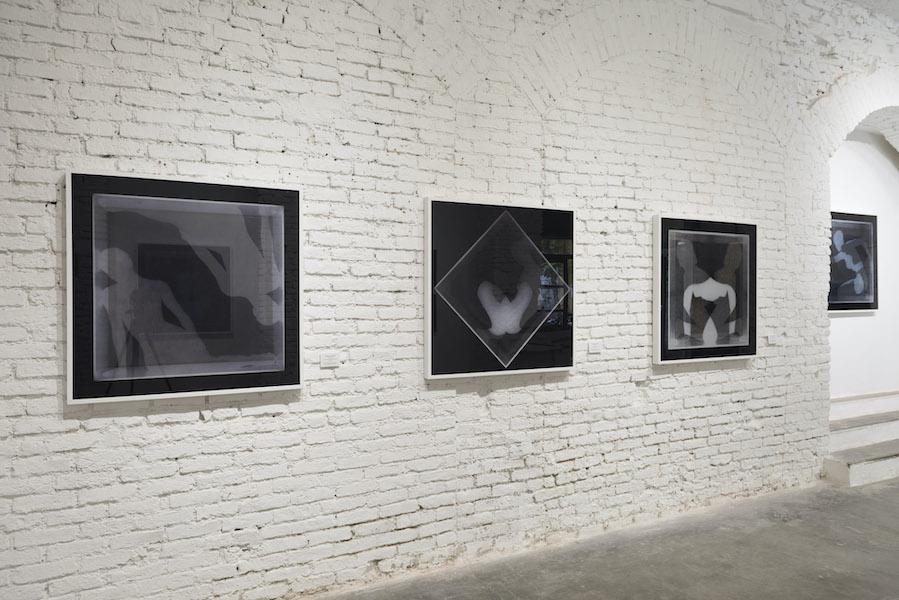 Manuel Scrima. Disembody, veduta della mostra, Fabbrica Eos, Milano Courtesy l'artista e Fabbrica Eos, Milano