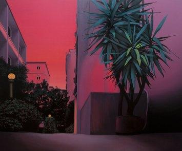 Laura Giardino, EST 13, 2019, tecnica mista su tela Courtesy l'artista e Galleria Area\B, Milano
