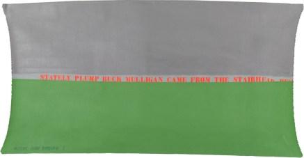 Cioni Carpi, Ulysses as memory Palimpseste partiel, 1972, olio su tela, 80x155 cm, Collezione privata Credito fotografico © Alberto Messina, 2020
