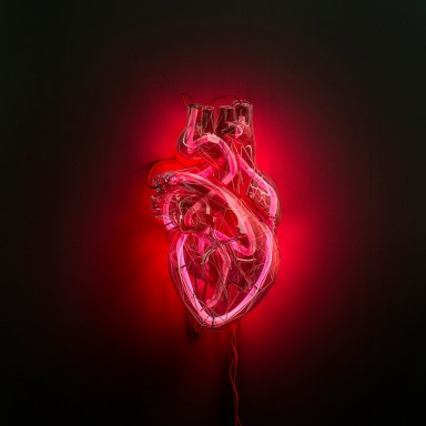 Fabrizio Ceccardi, Heartbeat, 2019, stampa fine art inkjet su carta barytata Hahnemuhle, 160x160 cm Courtesy Podbielski Contemporary, Milano