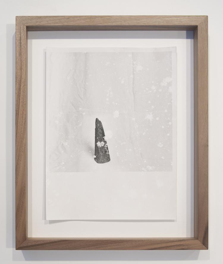 Massimiliano Gatti, Anche tu sei collina #15, 2020, stampe ai sali d'argento su carta baritata, cornice in legno di noce dell'Appennino, ed. 1/5 + AP, 18 x 24 cm Courtesy Podbielski Contemporary, Milano