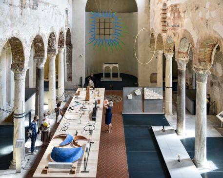 Juan Navarro Baldeweg. Architettura, pittura, scultura, veduta della mostra, Museo di Santa Giulia, Brescia
