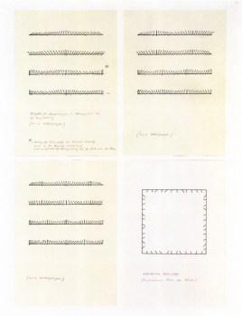 Fur 48 Portraits (Installationsskizzen), 1971, tav. 39, courtesy Gerhard Richter