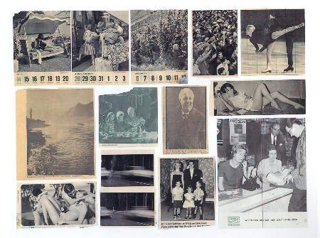 Zeitungsfotos, 1962-1966 tav. 7, courtesy Gerhard Richter