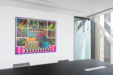 Luca Moscariello. A riveder le stelle!, exhibition view, Banca Sistema, Milano Photo credits Cosimo Filippini