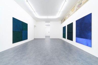 Electro Glide in Blue - Hermann Bergamelli, veduta della mostra, A+B Gallery, Brescia Photo by Petrò-Gilberti Courtesy A+B Gallery