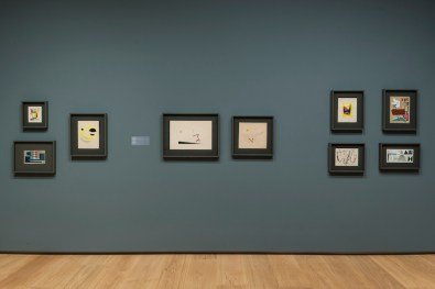 Silent Revolutions: Italian Drawings from the Twentieth Century, installation view, Menil Drawing Institute, The Menil Collection, Houston (Texas, U.S.A.) Photo Paul Hester