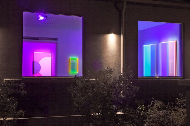 Regine Schumann. Chromasophia, veduta della mostra, Dep Art Gallery, Milano Courtesy Dep Art, Milano Foto Bruno Bani