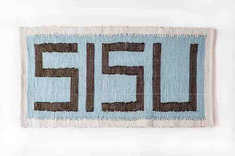 Stefano Boccalini, La ragione nelle mani - Sisu, 2020, lana cotta, Pezzotti (tappeti), 60 x 120 cm
