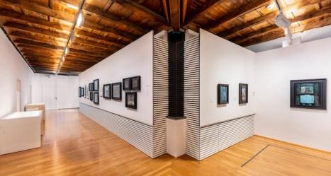 Luigi Pericle.Ad astra, veduta della mostra, MASI | Palazzo Reali, Lugano(Svizzera)