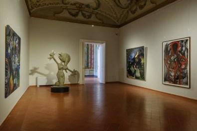 Così fan tutti. Opere dalla collezione di Ernesto Esposito, Villa Campolieto, allestimento, foto di Roberto Del Noce