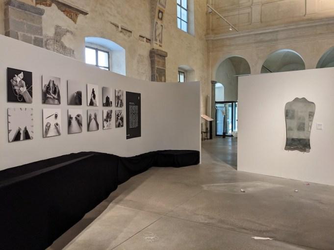 GestoZero. Bergamo 2021, veduta della mostra, Ex Chiesa di Santa Maria Maddalena, Bergamo