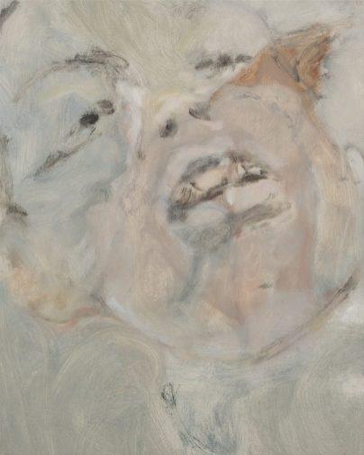 Rosario Vicidomini, 2020, Untitled, olio su tela, 40x50 cm, Courtesy Curva Pura, Roma
