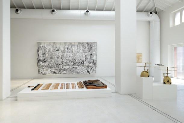 I am one acquainted with the night, veduta della mostra   installation view, 2021, Studio la Città, Verona Photo Michele Sereni