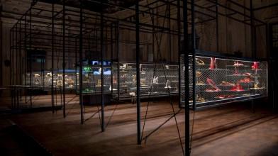 """Lighting project, mostra """"Gianfranco Ferrè. Gioielli e Ornamenti"""", Palazzo Madama, Torino (MINIFLUX TRANSPARENT e SHARP ZOOM by NEMO Studio)"""