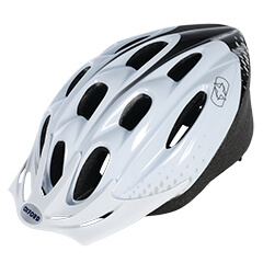 Oxford cycle helmet white