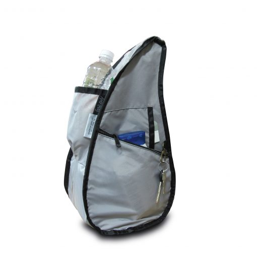 Textured Nylon Healthy Back Bag