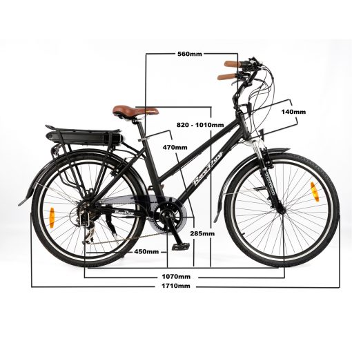 RooDog Mayfair Electric bike measurements