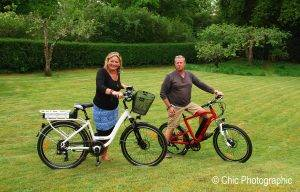 why own an electric bike - pictured are the Roodog Chic & Striker