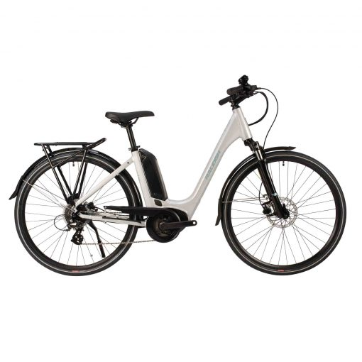 Raleigh Motus Low Step Ebike in silver