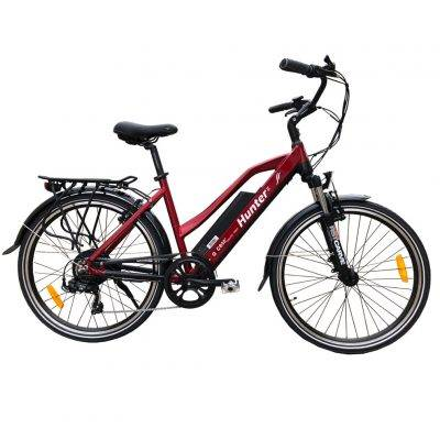 Axcess Electric Bike Hunter 2 red
