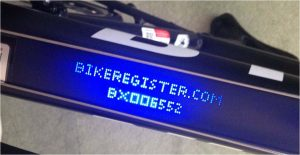 BikeRegister UV Covert Kit