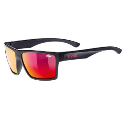 Uvex LGL Eyewear Black and Red