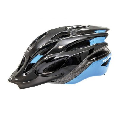 Raleigh Mission Evo Cycle Helmet Black Blue