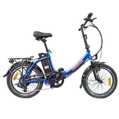 Axcess Electric Bike Shetland Folding blue