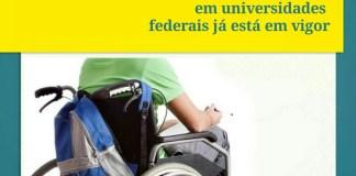 """alt=""""Lei de cotas para pessoas com deficiência em universidades federais já está em vigor"""""""