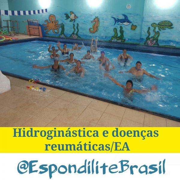 Hidroginástica e doenças reumáticas (Espondilite)