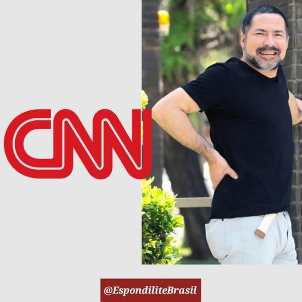 Jornalista da CNN Chile diagnosticado com Espondilite