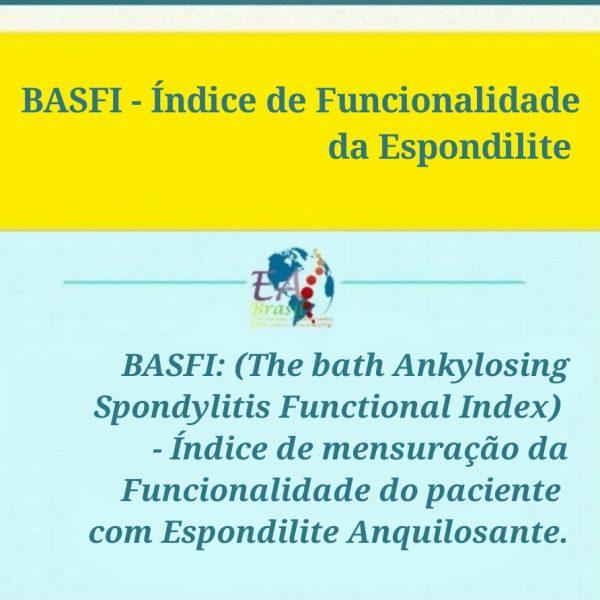 BASFI – Índice de Funcionalidade da Espondilite
